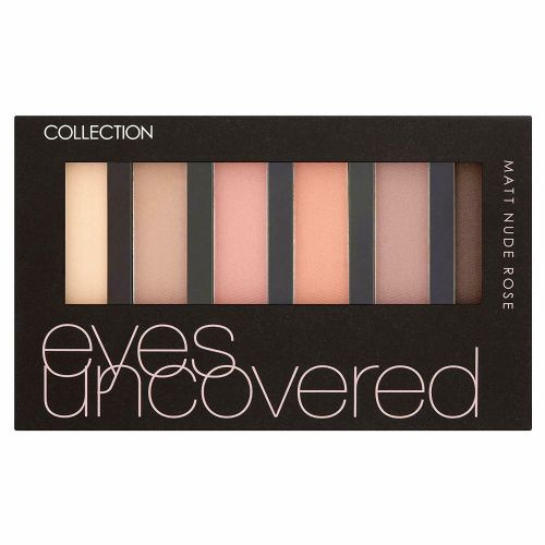 12 x Collection Eyes Uncovered Palette | MATT NUDE ROSE  | Eyes Do The Talking |